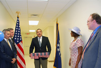 he Deputy Governor welcomed expanded services at the local US Consular Agency.
