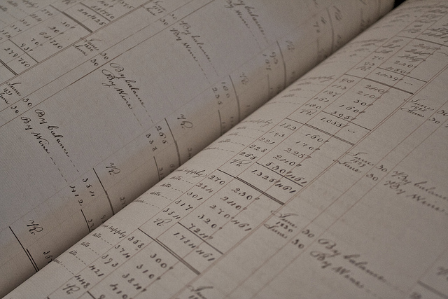 Accounts Ledger.