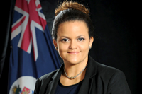 Hon. Tara Rivers, Minister of Education, Employment and Gender Affairs.