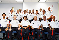 RCIPS recruits and their instructors look forward to their graduation ceremony at the Harquail Theatre next week.