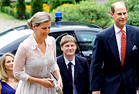 TRH Earl and Countess of Wessex on a 2013 Visit to Bulgaria