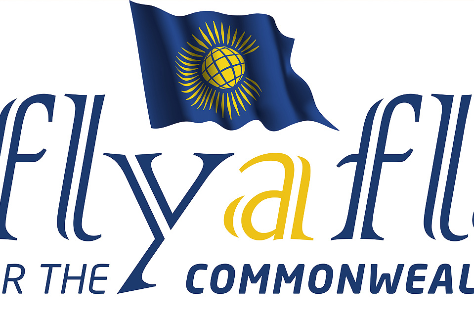 The Commonwealth Flag will be hoisted in the UK, Channel Islands, Isle of Man, UK Overseas Territories and Commonwealth Countries on Monday, 14 March 2016 which is Commonwealth Day. Seen here is the Fly a Flag Day logo.