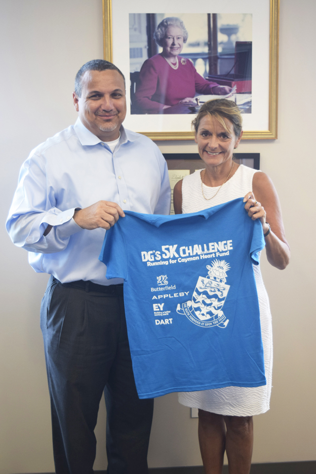 Governor Supports DG's 5K