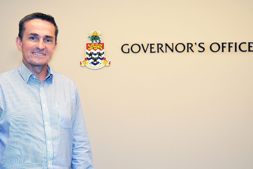 Mr. Matthew Forbes, OBE, is the new head of the Governor's Office.