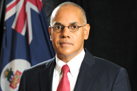 Minister of Finance and Economic Development, Hon. Marco Archer