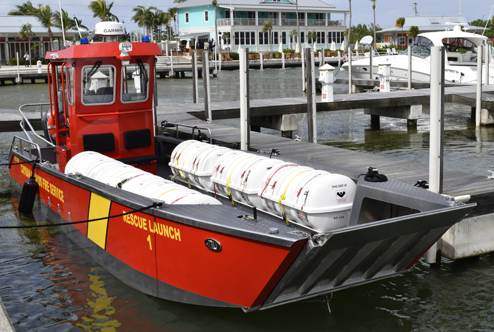 Fire Rescue Vessel Launches