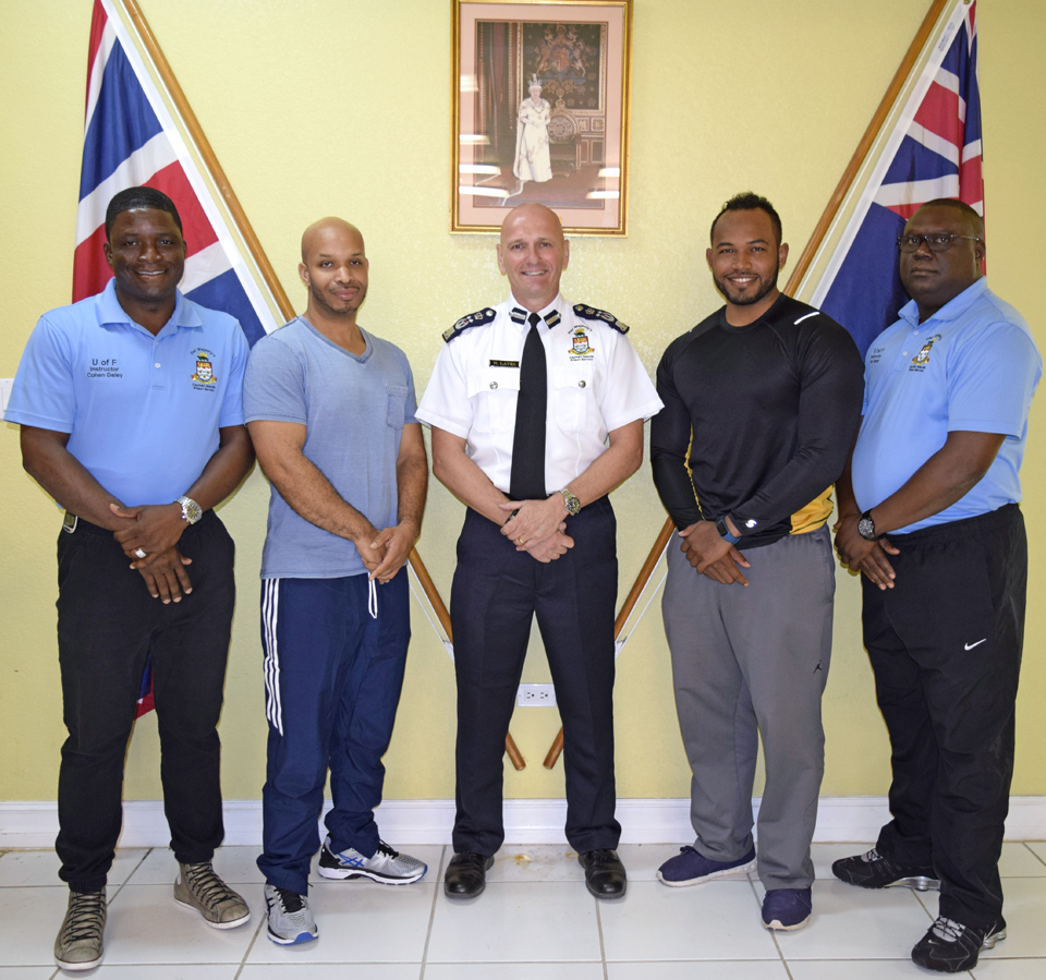 HMCIPS hosted two prison officers from Bermuda to take part in the Use of Force Training Programme.