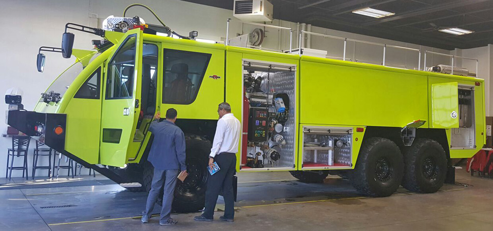 The CIFS will soon receive a new aerodrome fire truck at the Charles Kirkconnell International Airport.