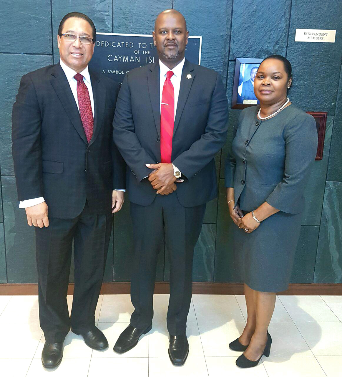 Senior officials from the Turks and Caicos Islands visited the Cayman Islands to discuss immigration services and border security.