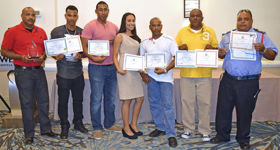 The CIFS appreciation luncheon recognised several well-deserving officers with awards.