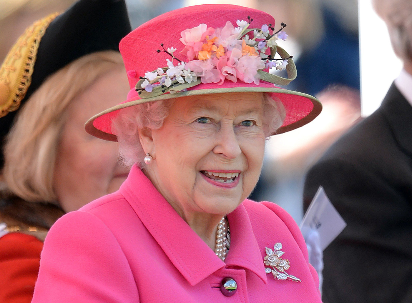 Due to inclement weather, the Queen's birthday celebrations will be held at Elmslie Church.