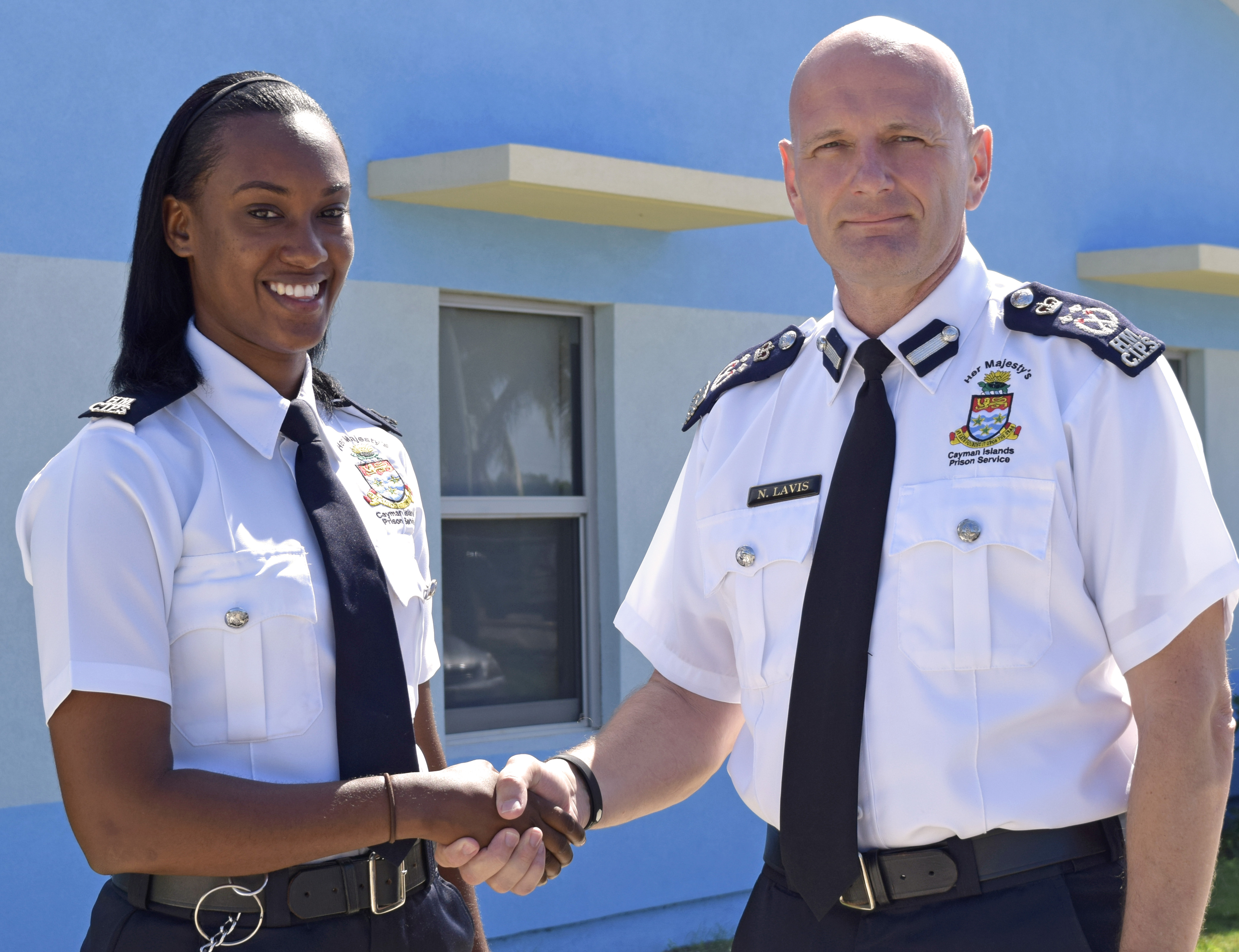 HMCIPS is proud to announce the recent promotion of Ms. Roxanne Walton as the newest prison officer.