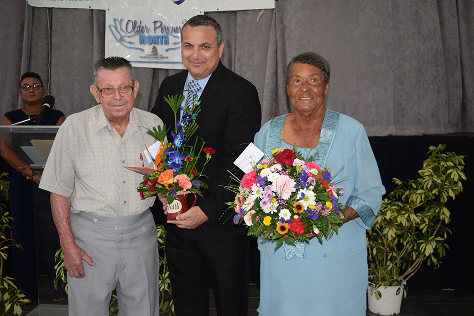 Int. Month of Older Persons Launch brings entertainment, speeches and lunch
