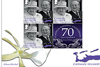 The set comprises four royal portraits on four sheets, with each sheet featuring seven stamps.