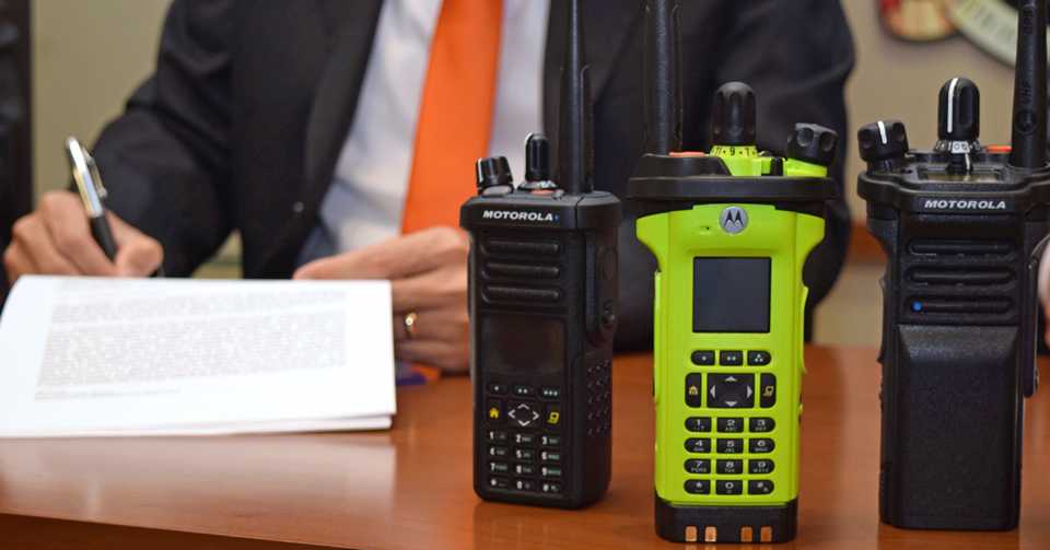 The CI will have the most modern radio system for all first responders in the Caribbean.