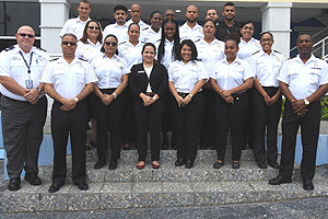 The Class of 2018 comprises 12 new Customs and four new Immigration officers.