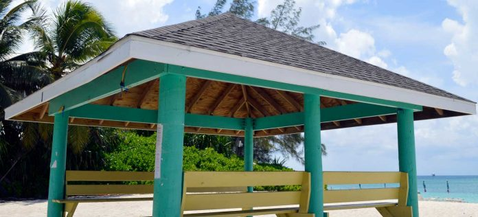 Members of the public can now book beach and park cabanas online