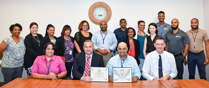 Ryan Rajkumarsingh has been selected by Deputy Governor Franz Manderson as the Cayman Islands Government Employee of the Month for September.