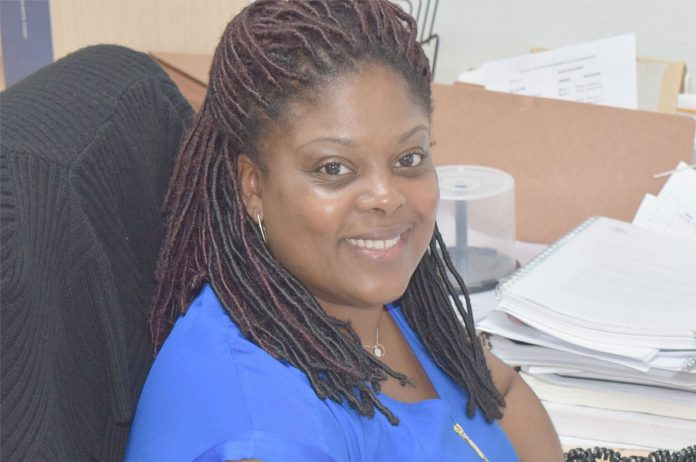 Deputy Director in charge of Operations, Niasha Brady