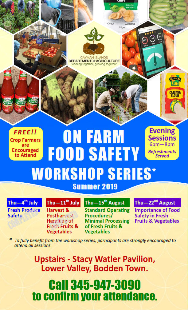 Department of Agriculture - On Farm Food Safety Workshop Series