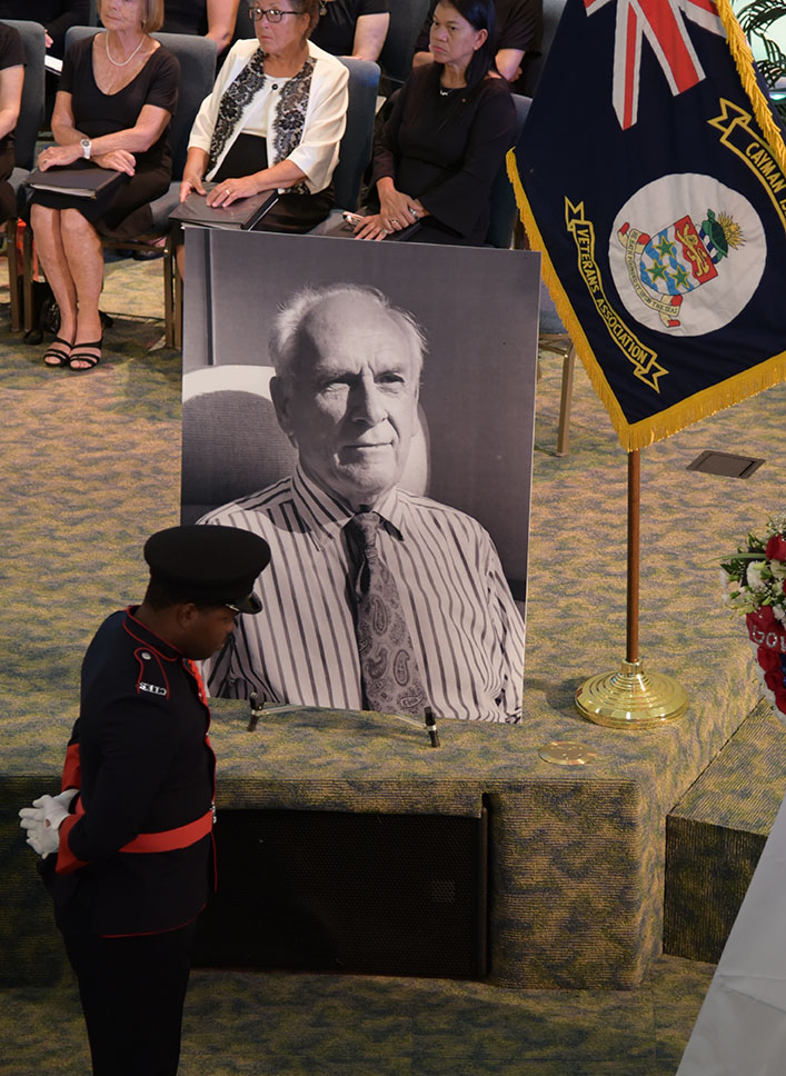 Mr. Long's Official Funeral was held on Wednesday, 14 August
