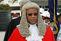 The Hon. Anthony Smellie, QC, JP.