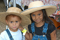 Young patrons at the Ag Show