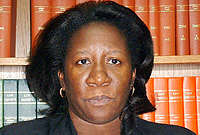 Director of Public Prosecutions Cheryll Richards, QC