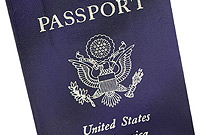A US passport: all residents are asked to keep travel documents ready.