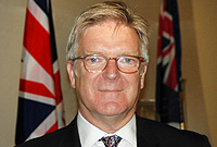Conference chair is UK Solicitor General and MP, Mr. Edward Garnier, QC.