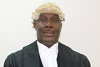 Attorney General, the Hon. Samuel Bulgin, QC, at the Grand Court 2012 session opening