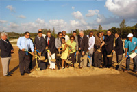 Ground is broken for a new Youth Centre which, when completed, will help put the Missouri Model of youth rehabilitation into practice in the Cayman Islands.