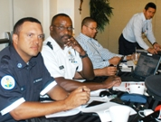 Representatives from EMS, RCIPS, 911 and the Port.
