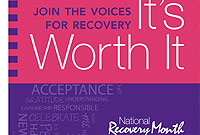 September was Recovery Month.