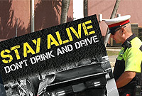 Take heed: the new RCIPS Stay Alive campaign will target several aspects of driving.